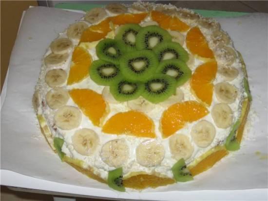 Торт Тропик