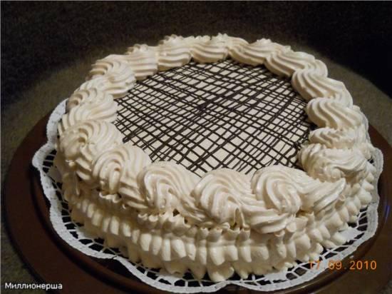 Торт шоколадно-кофейный Нежный