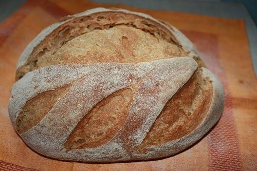 Силезский темный ржаной хлеб.