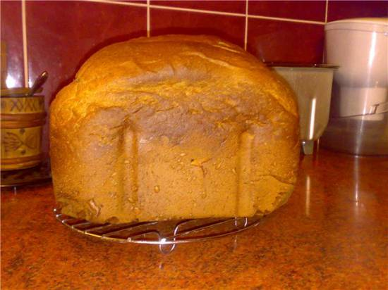 Солодовый хлеб  (хлебопечка)