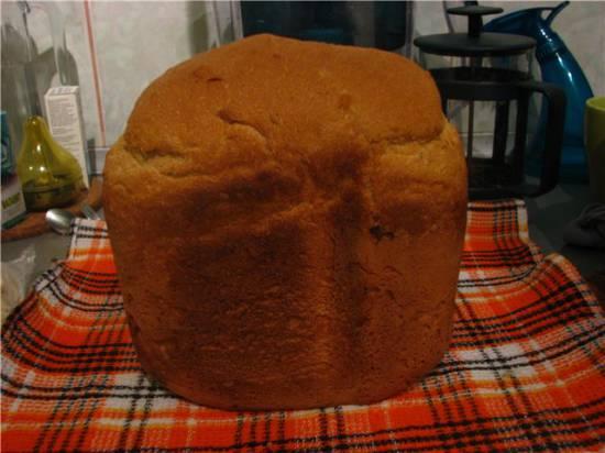 Простой хлеб с семечками в хлебопечке