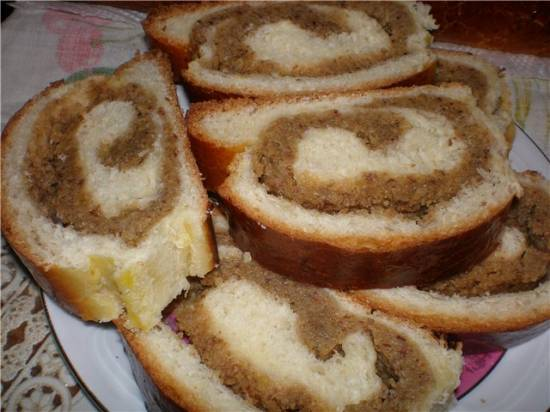 Тесто дрожжевое (постное)