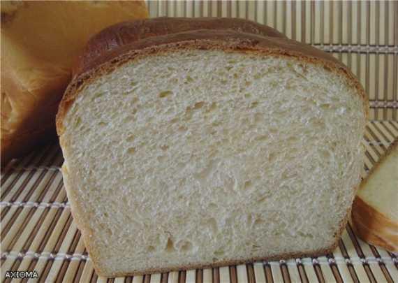 Молочный хлеб  (хлебопечка)