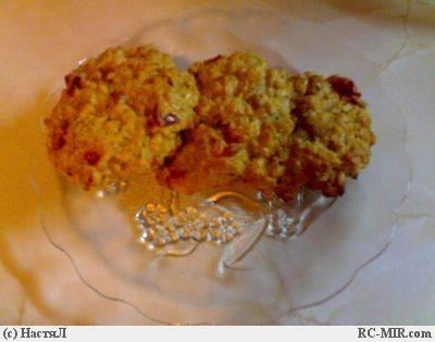 Английское овсяное печенье