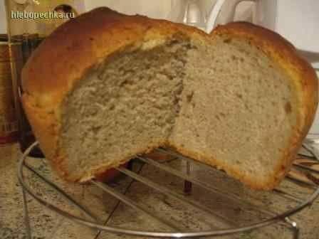 Хлеб домашний без дрожжей.