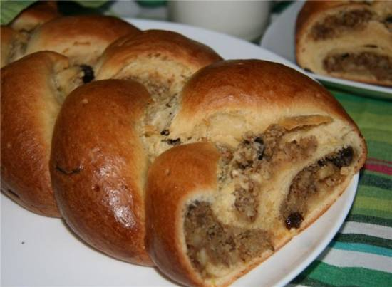 Пирог Швабский венок (швабская плетенка)