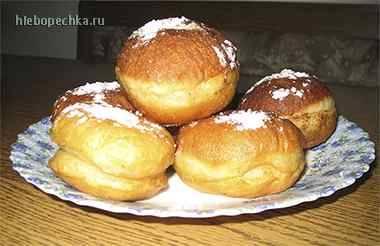 Суфганийот (пончики на праздник Ханука)