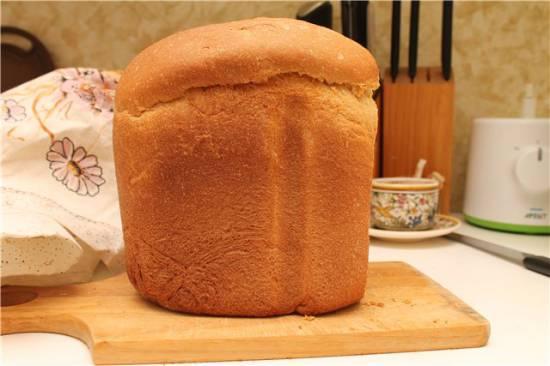Хлеб пшеничный дрожжевой Анадама  (хлебопечка)