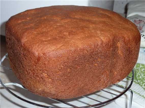 Классический ржаной домашний хлеб в хлебопечке