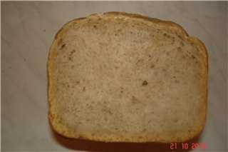 Пшенично-гречневый простой хлеб