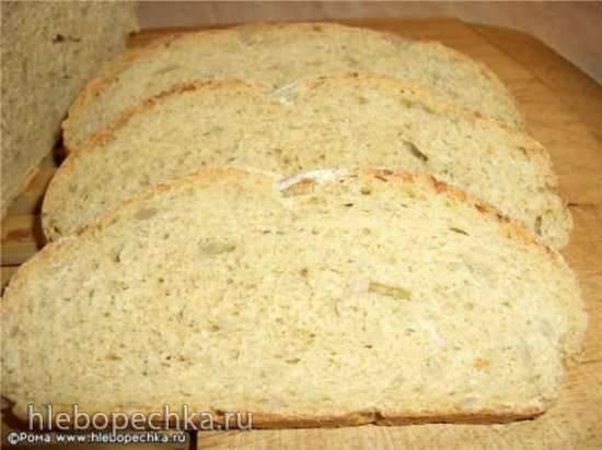 Хлеб пшеничный кукурузно-ржаной с семечками