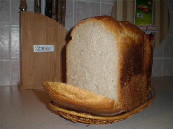 Panasonic SD-255. Белый хлеб тостовый