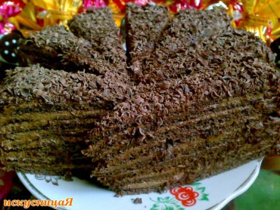 """Разрезы тортов Торт """"Трюфель"""" (Truffle Cake)"""
