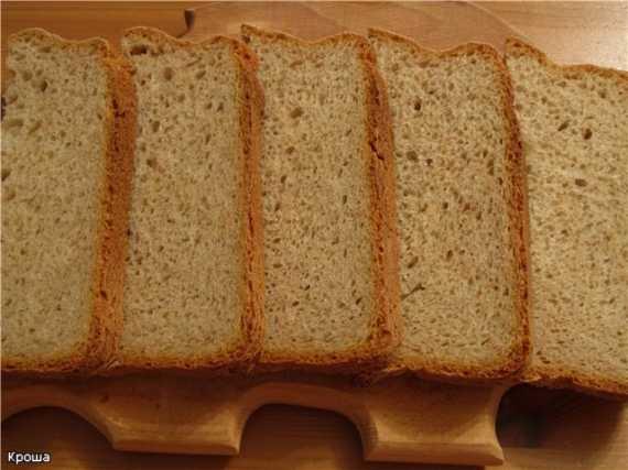 Moulinex 600230 Пшенично-ржаной хлеб