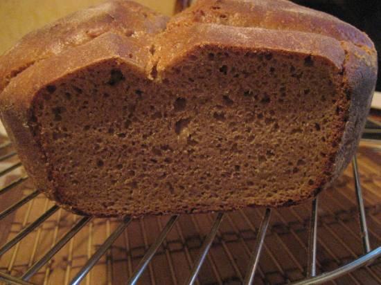 Хлеб ржаной на закваске.