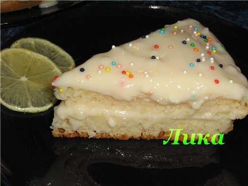 Торт Лимоный