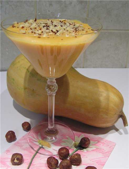 Махалябия Ара асаль (десерт из тыквы)