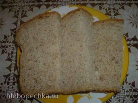 Хлеб на бульоне (в духовке)