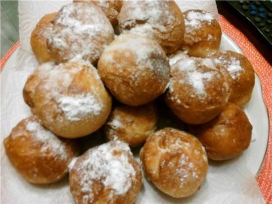 Берлинеры (немецкие пончики с начинкой) Пончики Берлинеры с начинкой