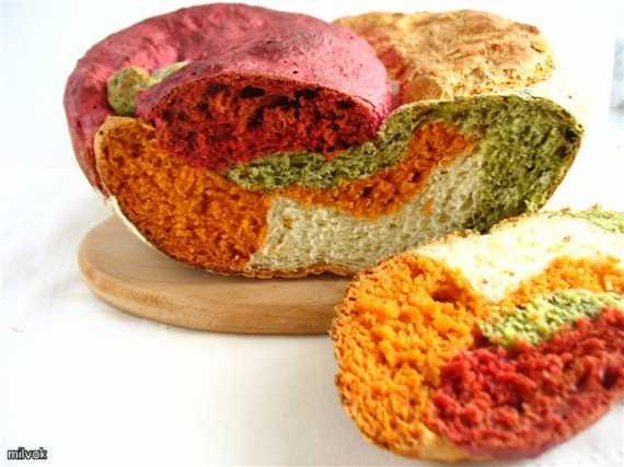 Австралийский овощной хлеб Il Gianfornaio в духовке
