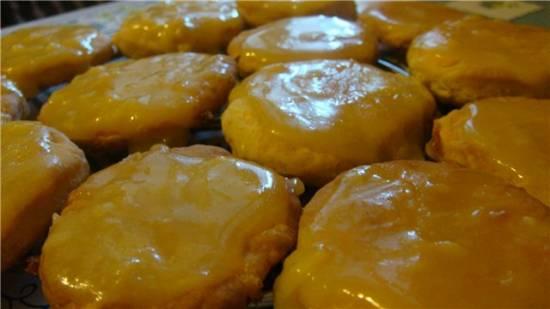 Печенье тыквенное с ириской
