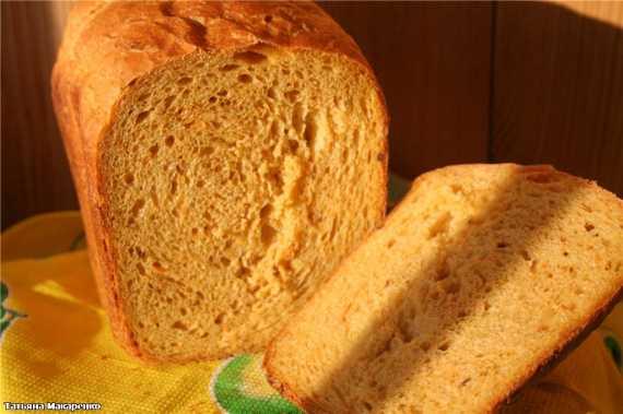 Хлеб с грецкими орехами (хлебопечка)