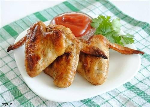 Куриные крылышки в остром маринаде