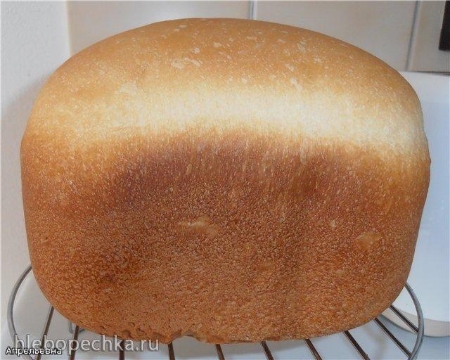 Очень мягкий белый хлеб (хлебопечка) Очень мягкий белый хлеб (хлебопечка)