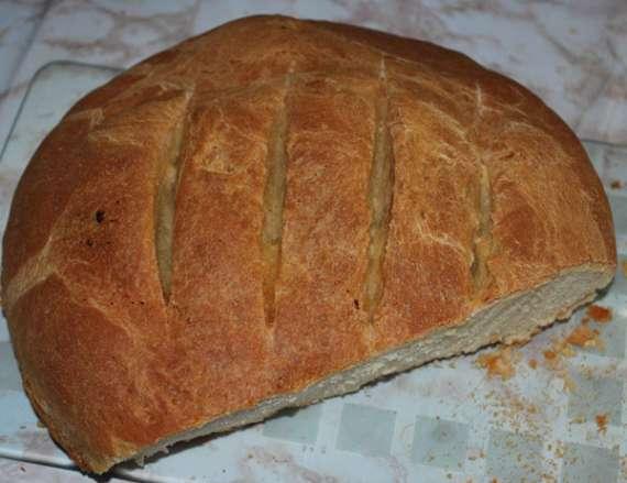Молочный цельнозерновой хлеб