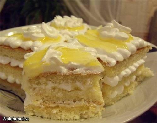 Пирожные Лимонные