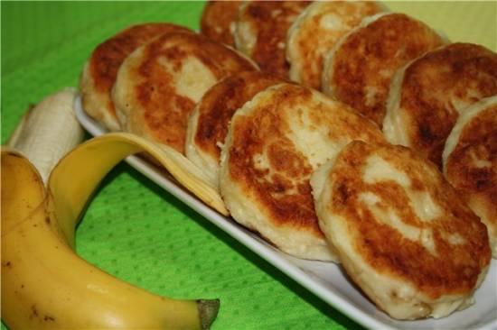 Сырники банановые