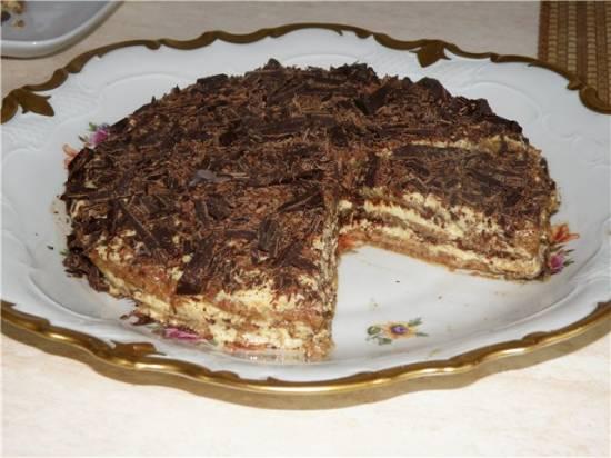 Семифреддо - Ледяной миндальный торт