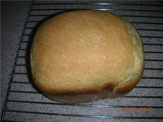 Хлеб пшенично-ржаной Деревенский (хлебопечка)