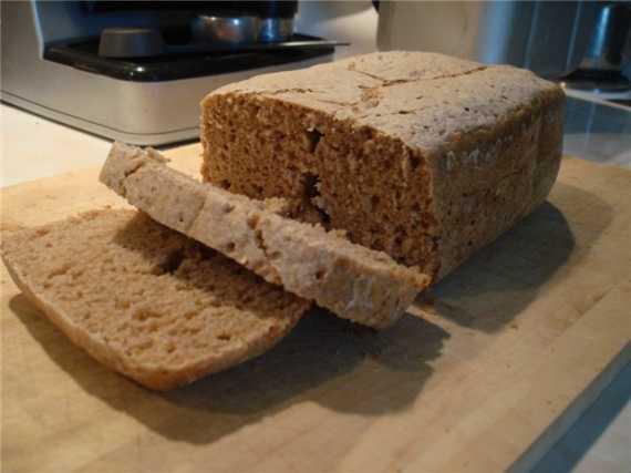 """Дарницкий хлеб на """"вечной"""" закваске в хлебопечке"""