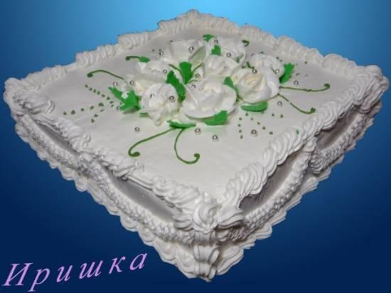 Торт Сметанник (автор Nastasya)