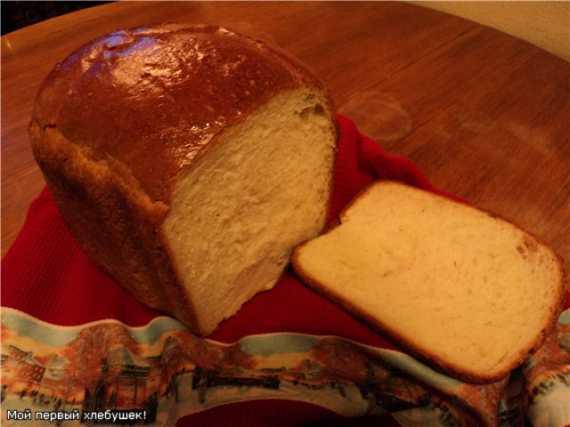 Panasonic SD-257. Белый молочный хлеб