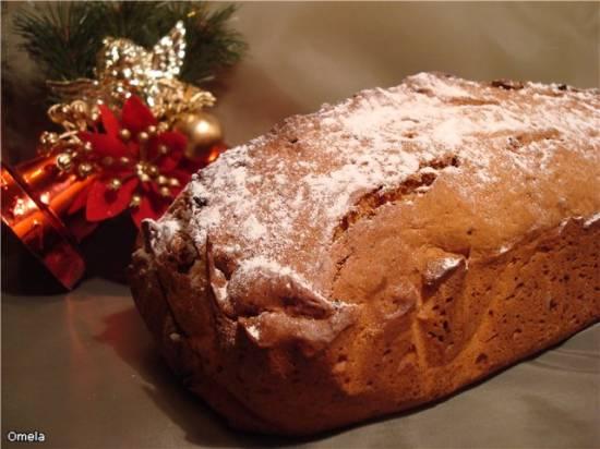 Штоллен (немецкий рождественнский хлеб)