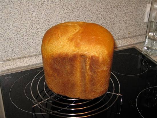 Луковый хлеб с сыром в хлебопечке