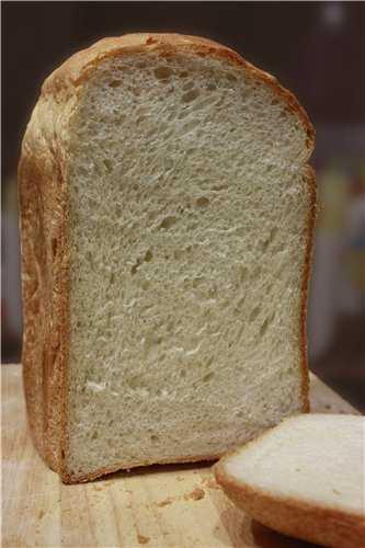 Panasonic SD-257. Белый хлеб с манкой