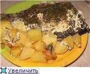 Карп на картофельной подушке (мультиварка)