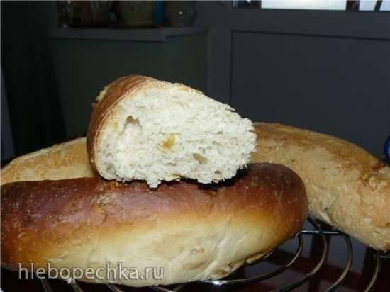 Багеты на закваске в хлебопечке Багеты на закваске в хлебопечке