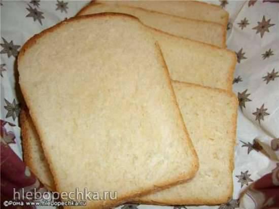 Хлеб пшеничный «Белый кисломолочный» (духовка)
