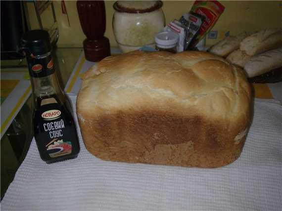 Moulinex OW5004. Белый хлеб