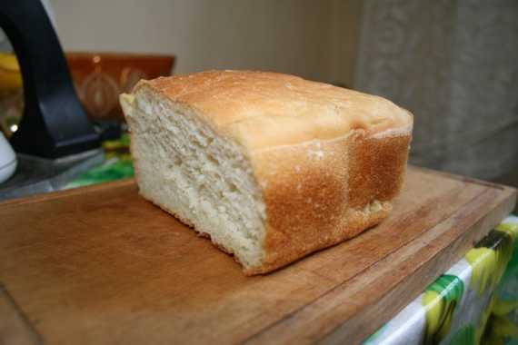Американский белый хлеб (духовка)