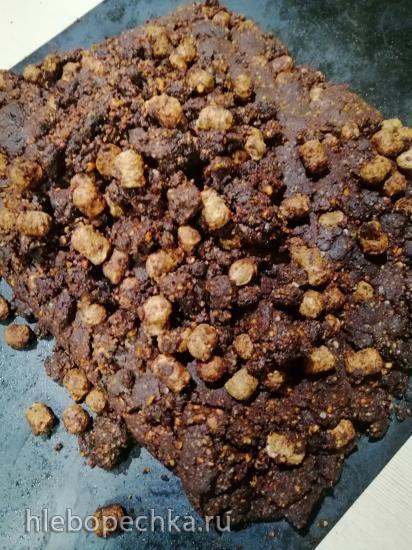 Натуральный шоколад без сахара из какао-порошка и сливочного масла