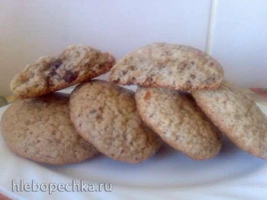 Овсяное печенье по ГОСТу по рецепту Ирины Чадеевой (пиццамейкер Princess 115000)