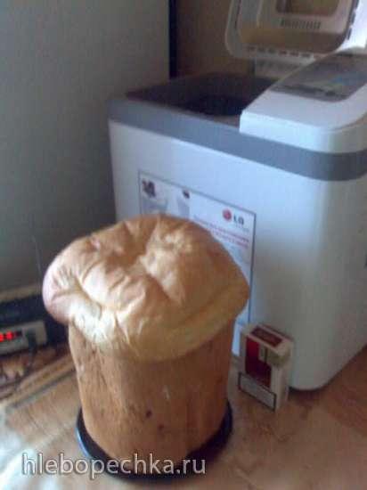 Хлебопечка LG HB-2001BY (с функциями йогурт и масло)