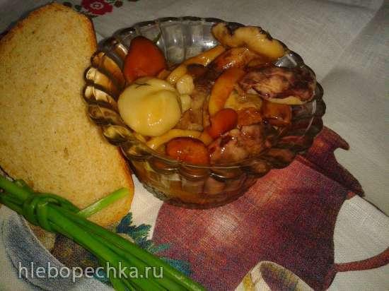 Грибы чернушки, свинушки и прочие подобные домашней засолки