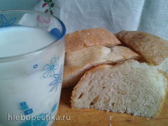 """Хлеб пшеничный """"Бесхлопотный"""" с семенами льна и кунжута"""