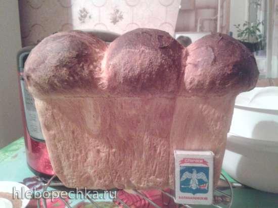 Молдавский хлеб Колэчел в духовке